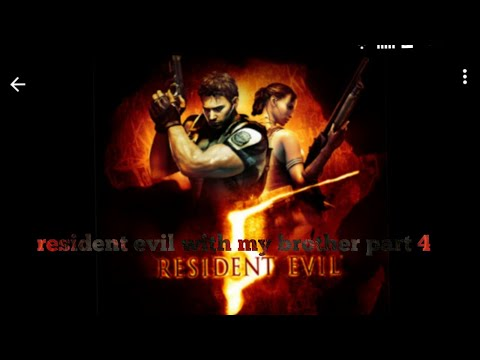 Playing resident evil with my brother we are on our own