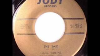 Hasil Adkins - She Said  ~  Rockabilly