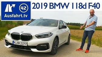 2019 BMW 118d Sport Line (F40)  - Kaufberatung, Test deutsch, Review, Fahrbericht Ausfahrt.tv