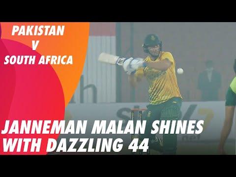 Janneman Malan Shines With Dazzling 44 Against Pakistan | 1st T20I 2021 | ME2T
