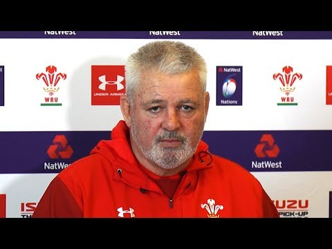 Warren Gatland Pre-Match Press Conference - Wales v Ireland - Six Nations