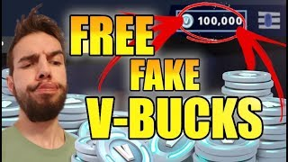 How To Get Free Fake V-bucks On Fortnite! *Latest Update!*