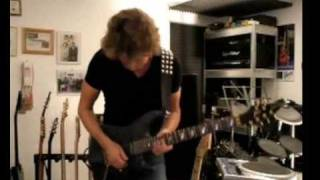 Hard Rock Guitar Ballad - Tapping Solo Included :-)
