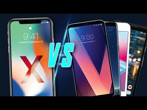 Download Youtube: iPhone X VS Pixel 2 XL, Galaxy S8, and LG V30 Comparison!
