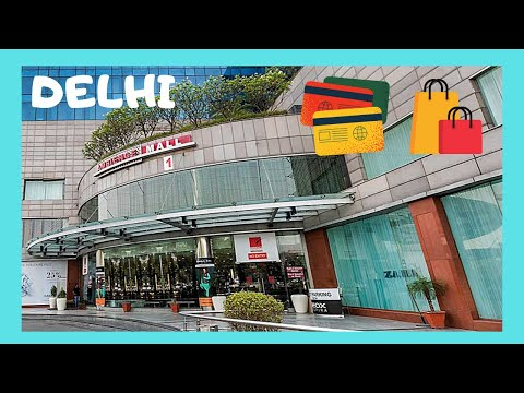 DELHI'S most luxurious shopping mall 🛍️, the Ambience Mall, let's go! (India) from YouTube · Duration:  4 minutes 52 seconds