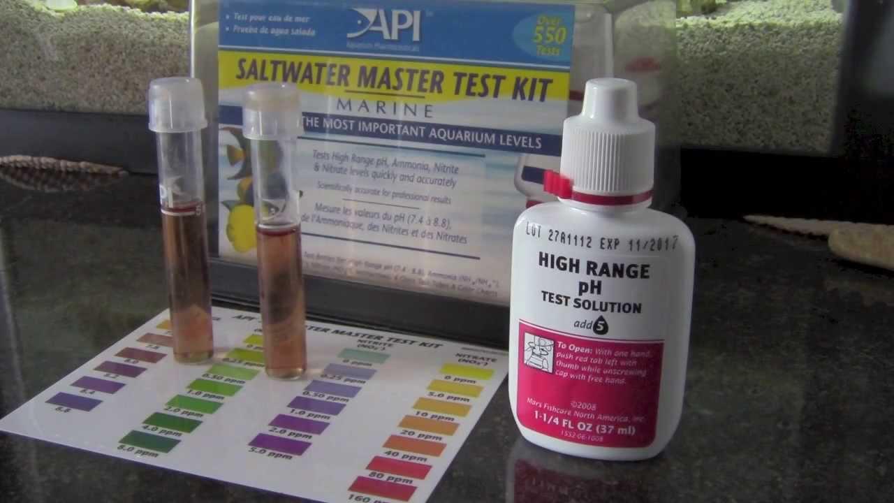 Fish tank test kit - Fish Tank Test Kit