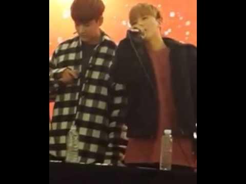 iKON Jinhwan singing I miss You So Bad