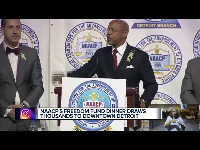 Thousands attend NAACP dinner in Detroit