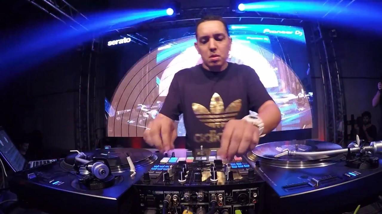 Vice Champion DJ Marquinhos Espinosa RedBull Thre3Style Final Brazil 2016.