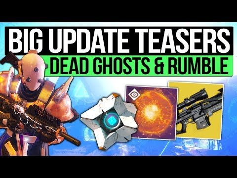 Destiny 2 News   BIG UPDATE TEASERS! - Dead Ghosts Return? Rumble Confirmed, Future Secrets & More!
