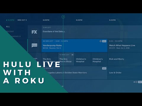 How To Navigate Hulu Live TV On Roku  -- New Live TV Guide! (Fall 2019)