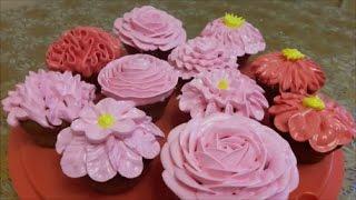 видео Торт из капкейков на День Рождения в форме гусеницы