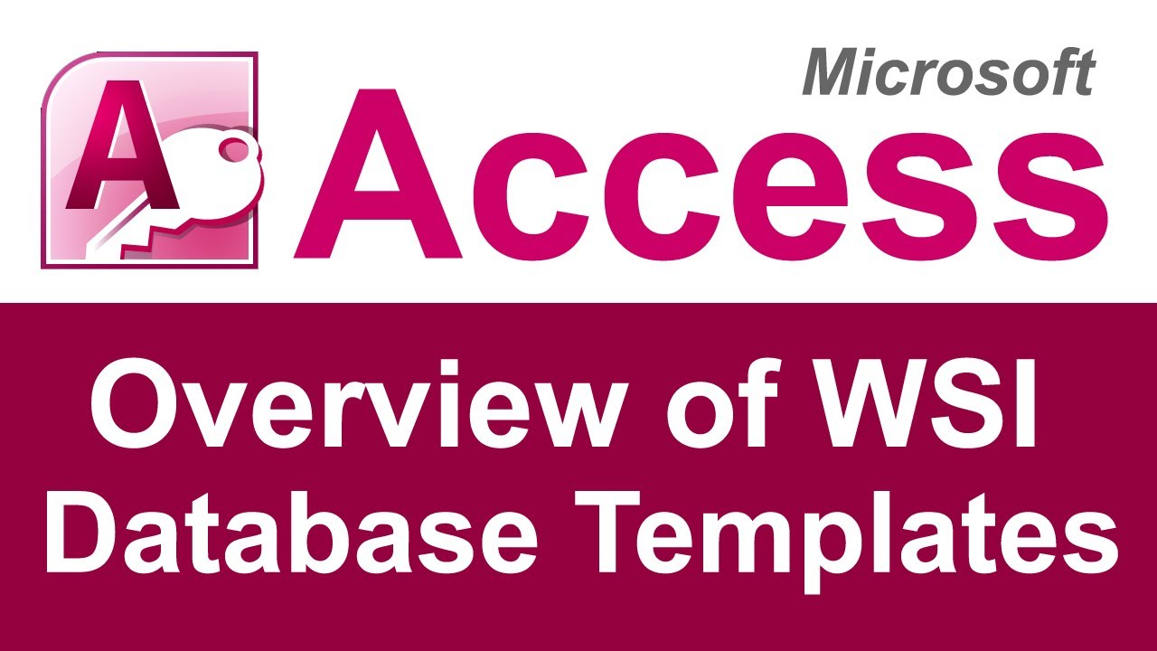 Microsoft Access Template Databases | Full Source Code