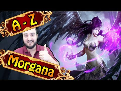 A-Z MORGANA , 3 sec CC mit der Q | League of Legends