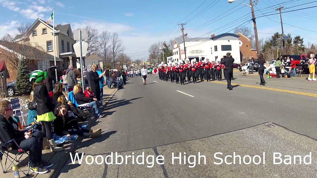 Woodbridge NJ St Patricks Day Parade 2013 - YouTube