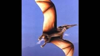 how to make easy dinosaur origami flying pterodactyl テロダクティル恐竜折り紙 dinosaurio
