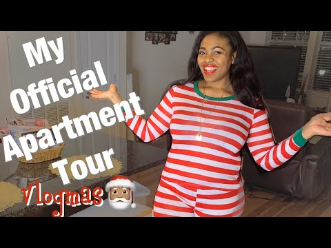 Official Apartment Tour!! Part 1 | Vlogmas