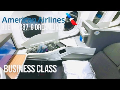 American Airlines Business Class | Boeing 787-9 Dreamliner | Dallas To Seoul