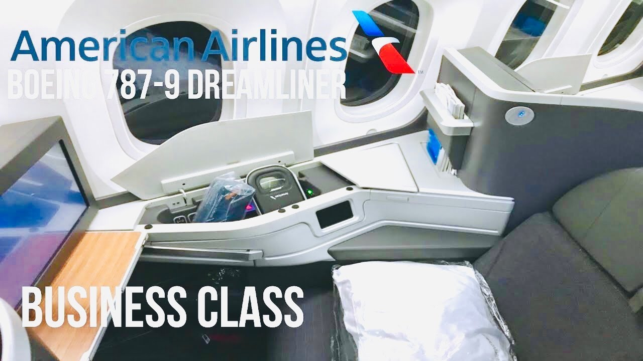 American Airlines Business Class Boeing 787 9 Dreamliner