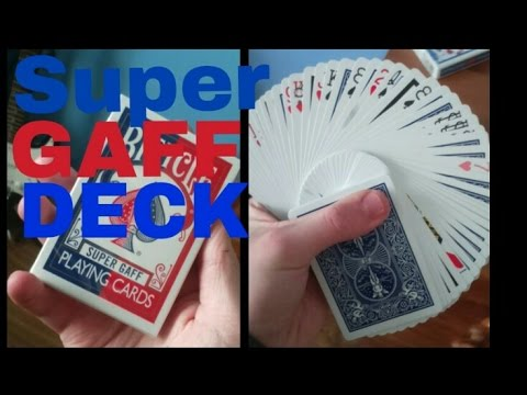 really cool card tricks super gaff deck top 10 favourites youtubereally cool card tricks super gaff deck top 10 favourites