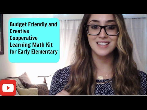 How to create a Cooperative Learning Math Kit for Early Elementary