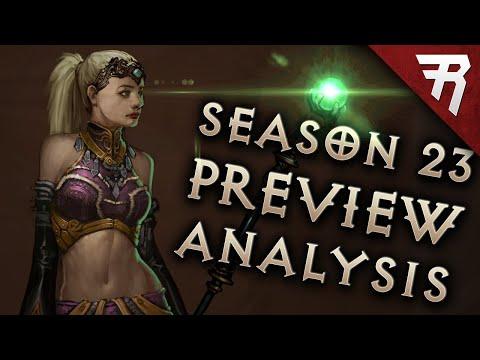 HUGE Diablo 3 Patch Preview: Season 23 PTR patch 2.7.0