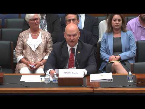 Rear Admiral Mark H. Buzby, USN, Ret., Administrator Maritime Administration, Testimony