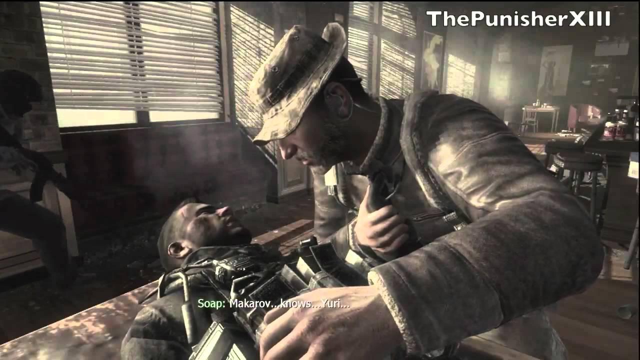 Modern Warfare 3 Kamarov And Soaps Death Extra Youtube