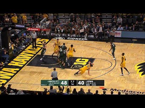 big-ten-basketball-highlights---michigan-state-at-iowa