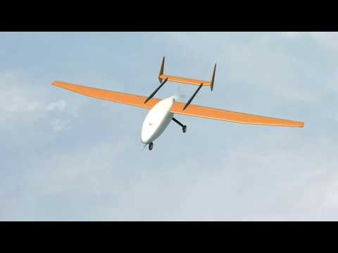 UAV in Flight Animation