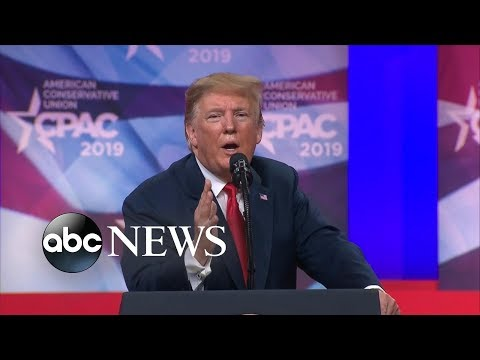 Trump delivers first public speech since meeting with Kim Jong Un