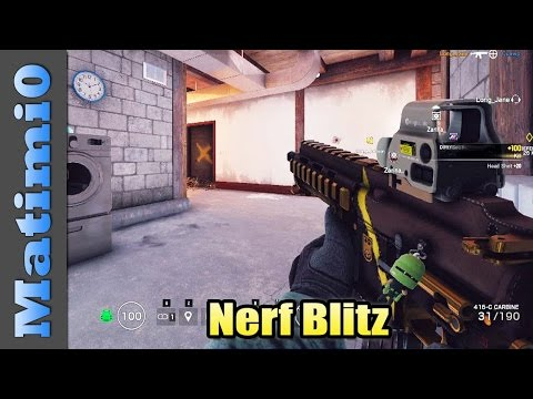 Nerf Blitz - Rainbow Six Siege