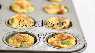 Cupcakes de huevito/ Egg cupcakes thumbnail