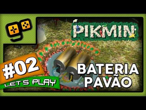Let's Play: Pikmin - Parte 2 - Bateria Pavão