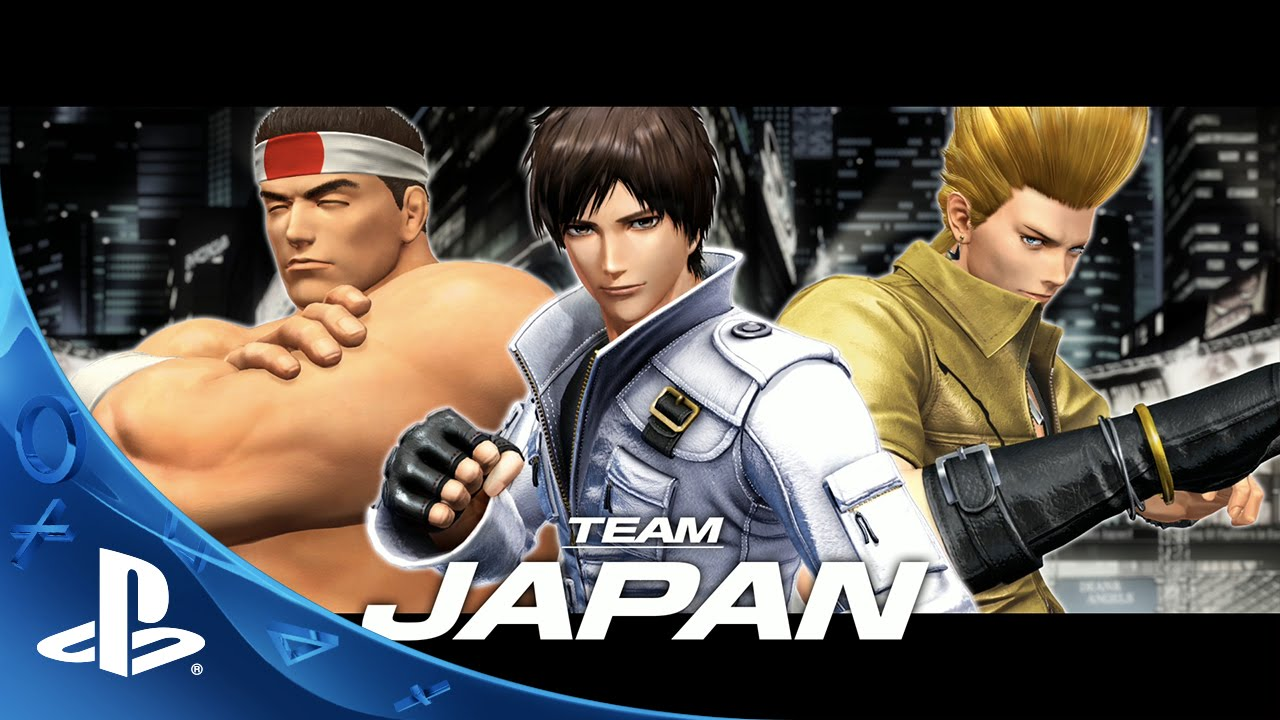 The King Of Fighters Xiv Team Japan Trailer Ps4 Youtube