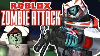 Zombies Are Back! Roblox Zombie Attack