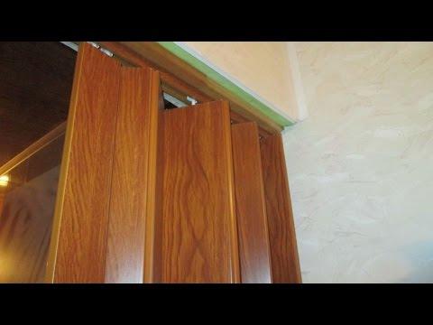 Установка Дверь-книжка межкомнатные двери. Подробно. - YouTube