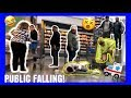 Download FAKE FALLING IN PUBLIC WITH MY GIRLFRIEND! *BADLY INJURED* MP3 song and Music Video