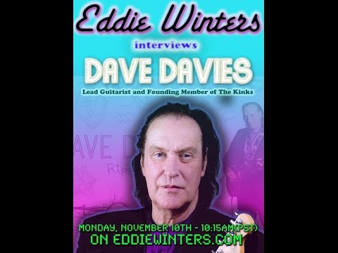 Dave Davies - The Airport Interview - Exclusive w/ Eddie Winters 11.10.14 - The Kinks