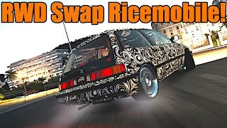 Forza Horizon 2 | 1986 Civic Si | RWD Swap Drift Build | Y U SO RICE!?