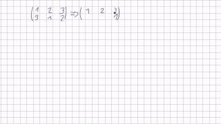 Mathematik für Informatik Studenten 47 - Algebraische Grundstrukturen : Inverse Permutationen