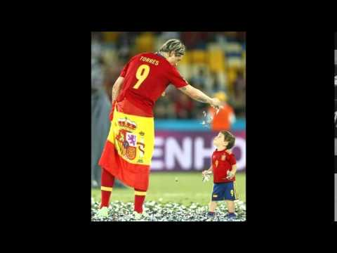 Fernando Torres shows and proves that very love his son Leo Torres. Liverpool