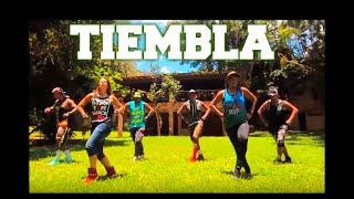 Gambar cover TIEMBLA  - JOEL MOSQUERA - SALSACHOQUE - ZUMBA - É O BONDE