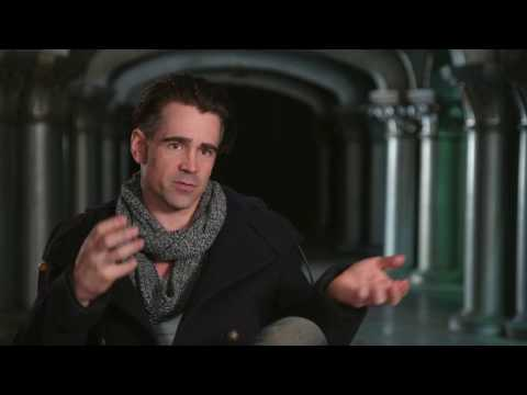 """Fantastic Beasts and Where To Find Them """"Graves"""" Interview - Colin Farrell"""