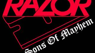 Razor - Cut Throat (Live) 7-12-85 pt.3