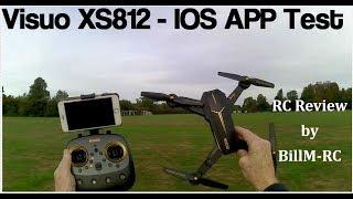 Visuo XS812 review - IOS App Test