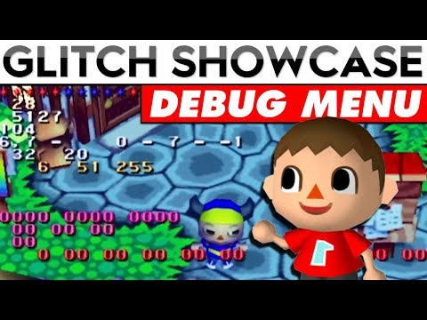 Animal Crossing's Debug Menu Found 15 Years AFTER Release | Glitch Showcase