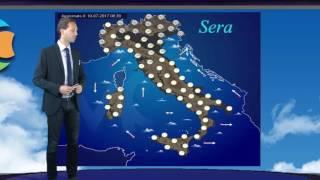 Previsioni meteo Italia 11 Luglio 2017