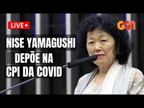 NISE YAMAGUSHI NA CPI DA COVID - AO VIVO - 01/06 - 9H