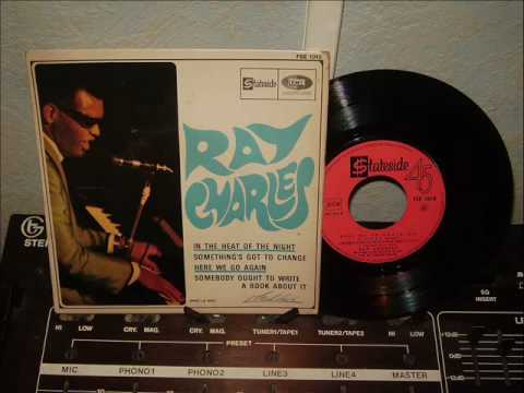 RAY  CHARLES     somebody ought to write a book about it
